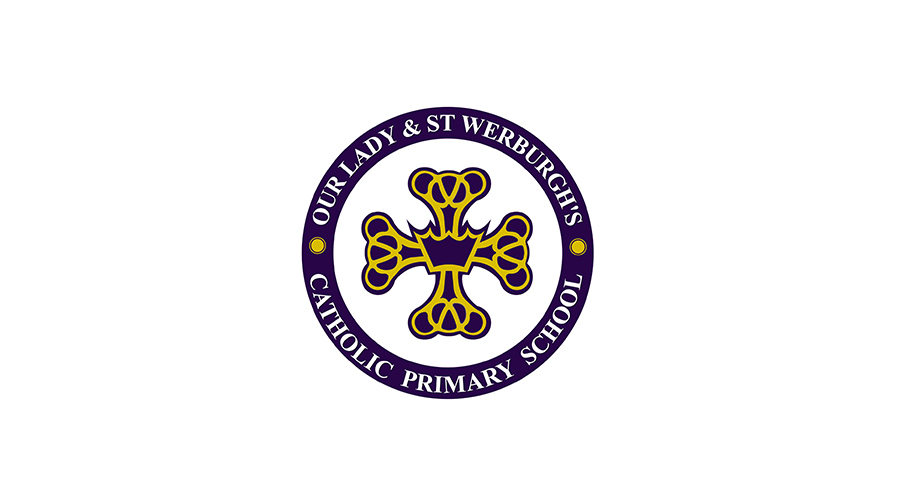 Our lady and st Werburgh's Logo